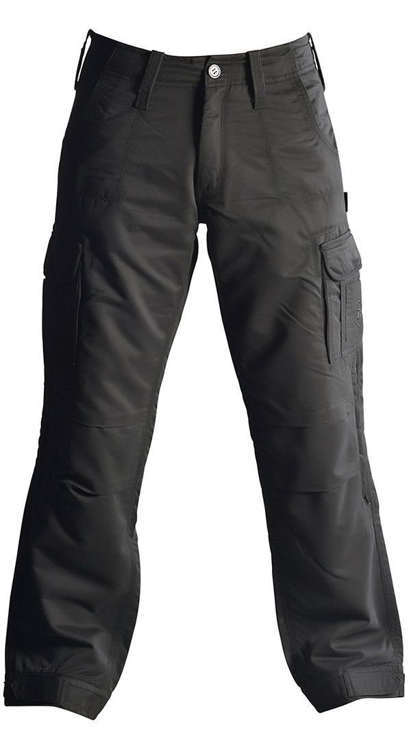 Mens motorcycle cargo pants - Black - Pekev armoured pants