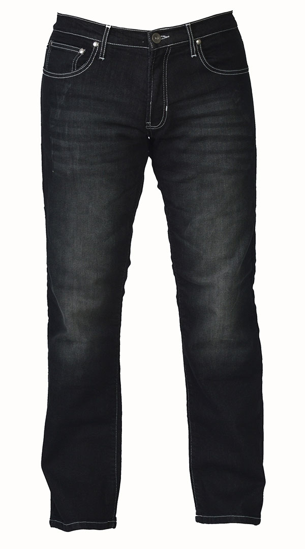 Motorcycle Jeans for men with armor - Black Bird - Riding Denim NZ