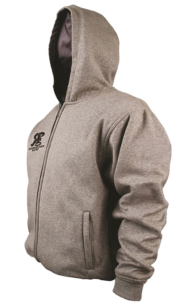 Motorcycle armored Hoodie - GREY