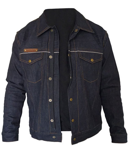 DENIM JACKET : RAW