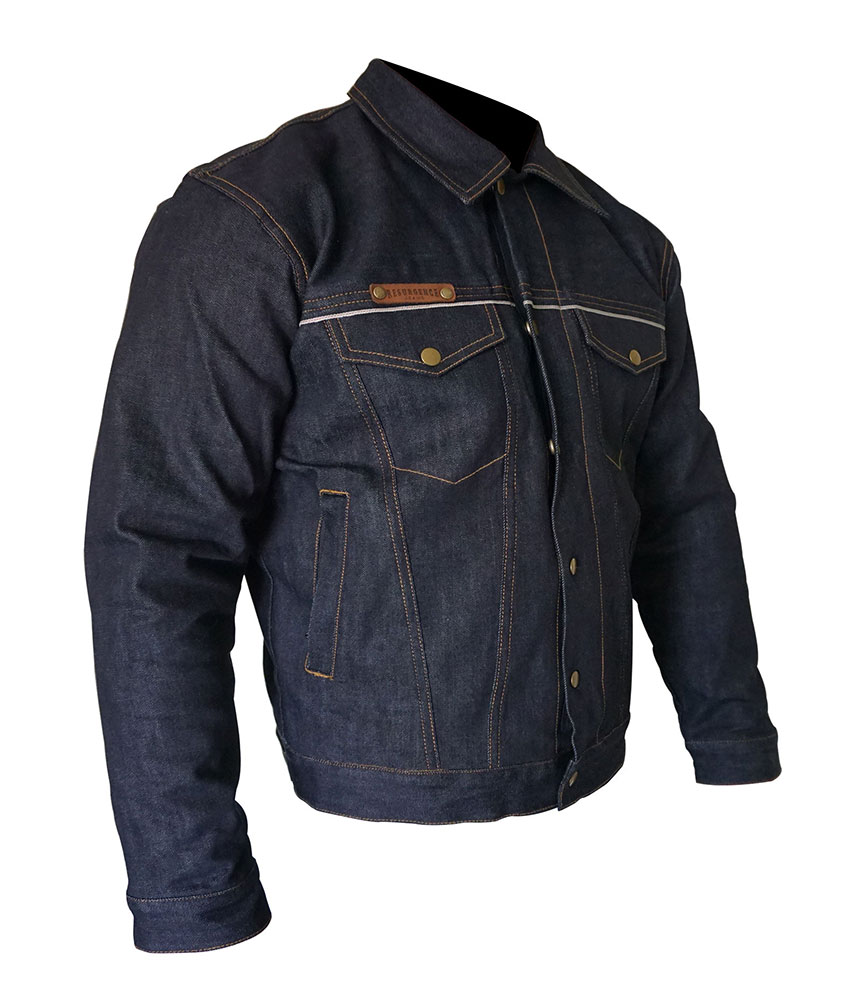 Denim motorcycle Jacket - Raw